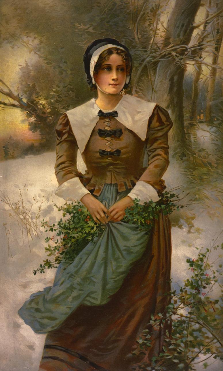 A fair Puritan 17th Century Fashion