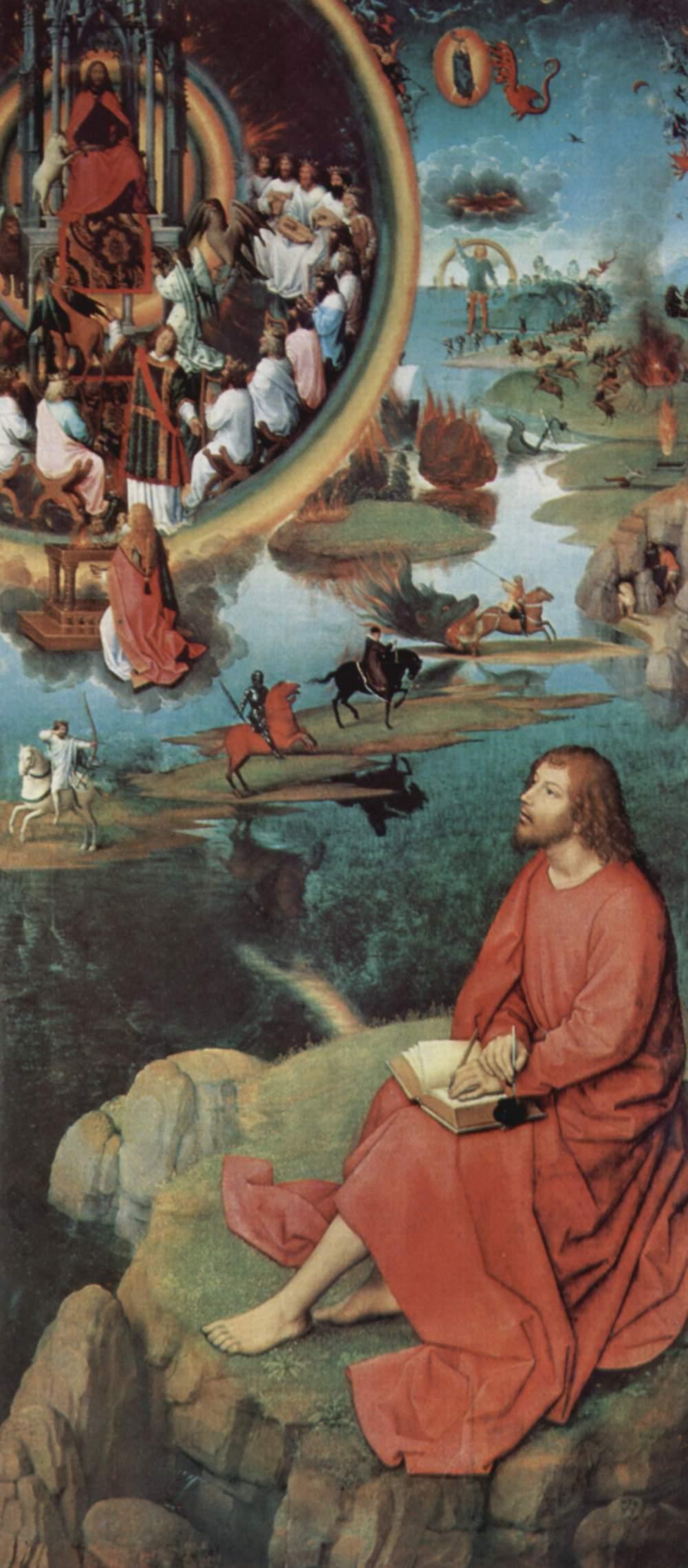 Heiliger Evangelist Johannes in Patmos