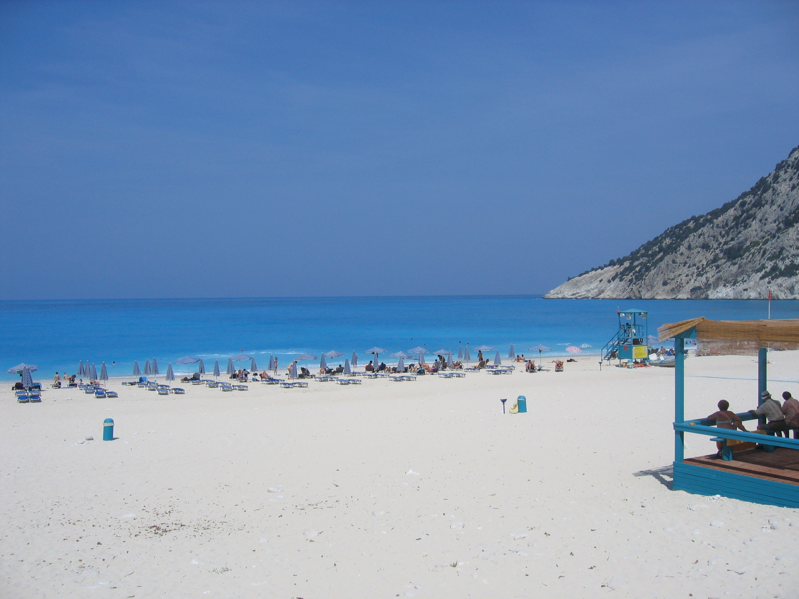 English: Myrtos Beach, Kefalonia. Greece. The ...