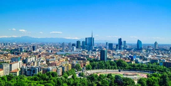 Image result for milan skyline mountains