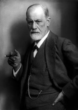 Sigmund Freud (Max Halberstadt [Public domain], via Wikimedia Commons)