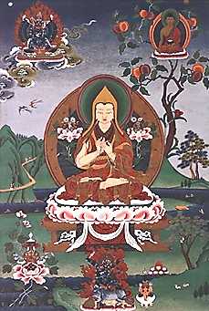 Je Tsongkhapa (Tsong-kha-pa), founder of the G...