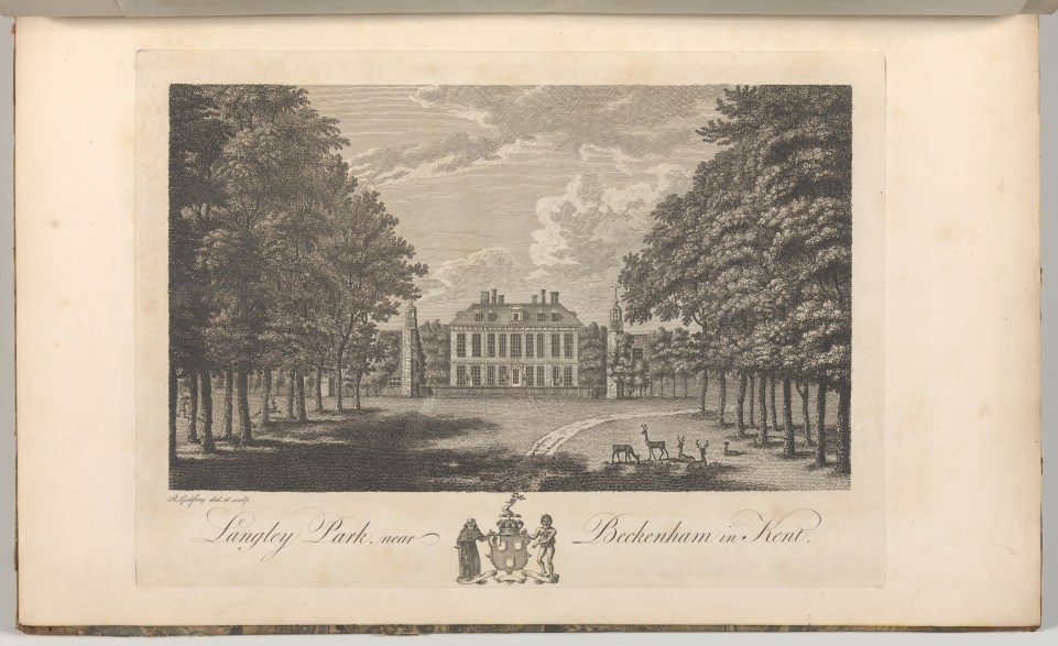 File:Langley Park, near Beckenham in Kent, from Edward Hasted's