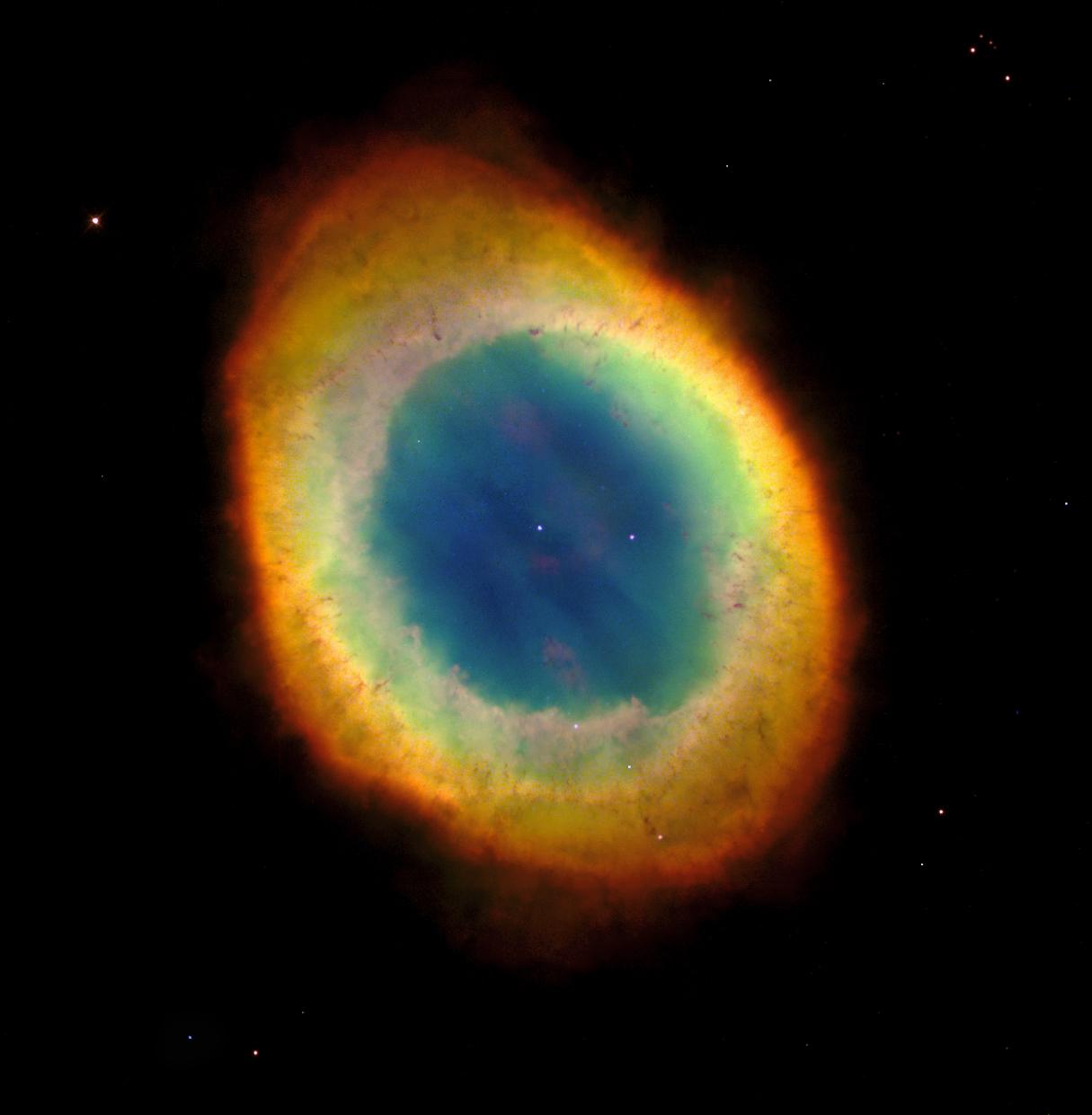 Nebulosa del Anillo en la constelación de Lyra