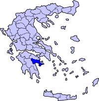 Map of Argolis