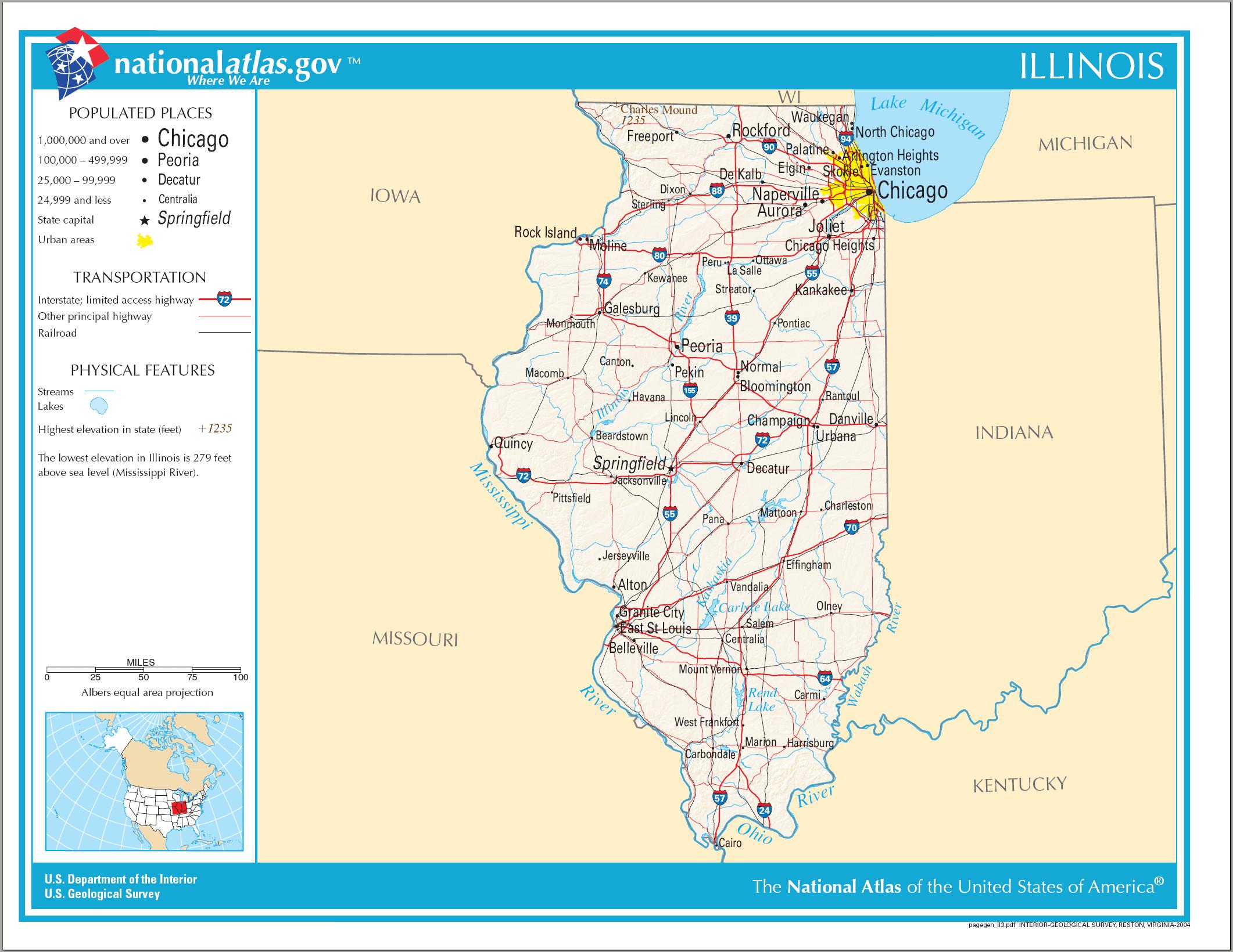 Illinois Regions