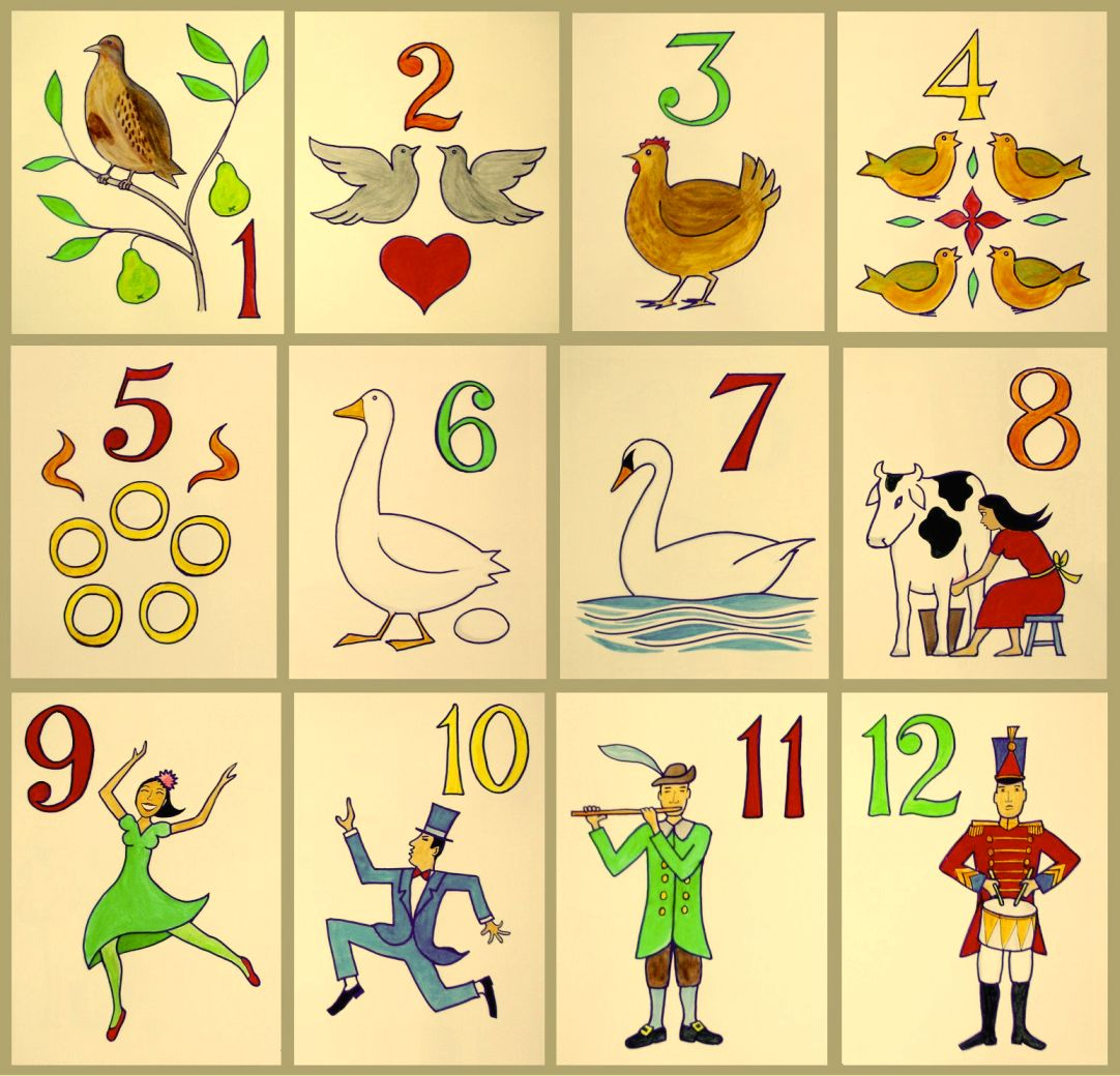 The Twelve Days Of Christmas Song