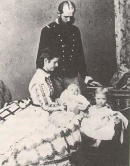 Maria Anunciata de Bourbon-Duas Sicílias & Carlos Luís da Áustria