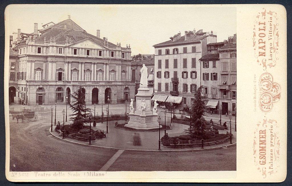 La Scala dawniej