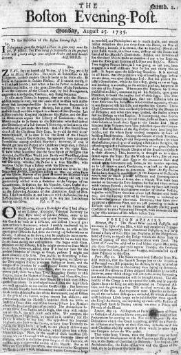 Boston Evening Post Wikipedia