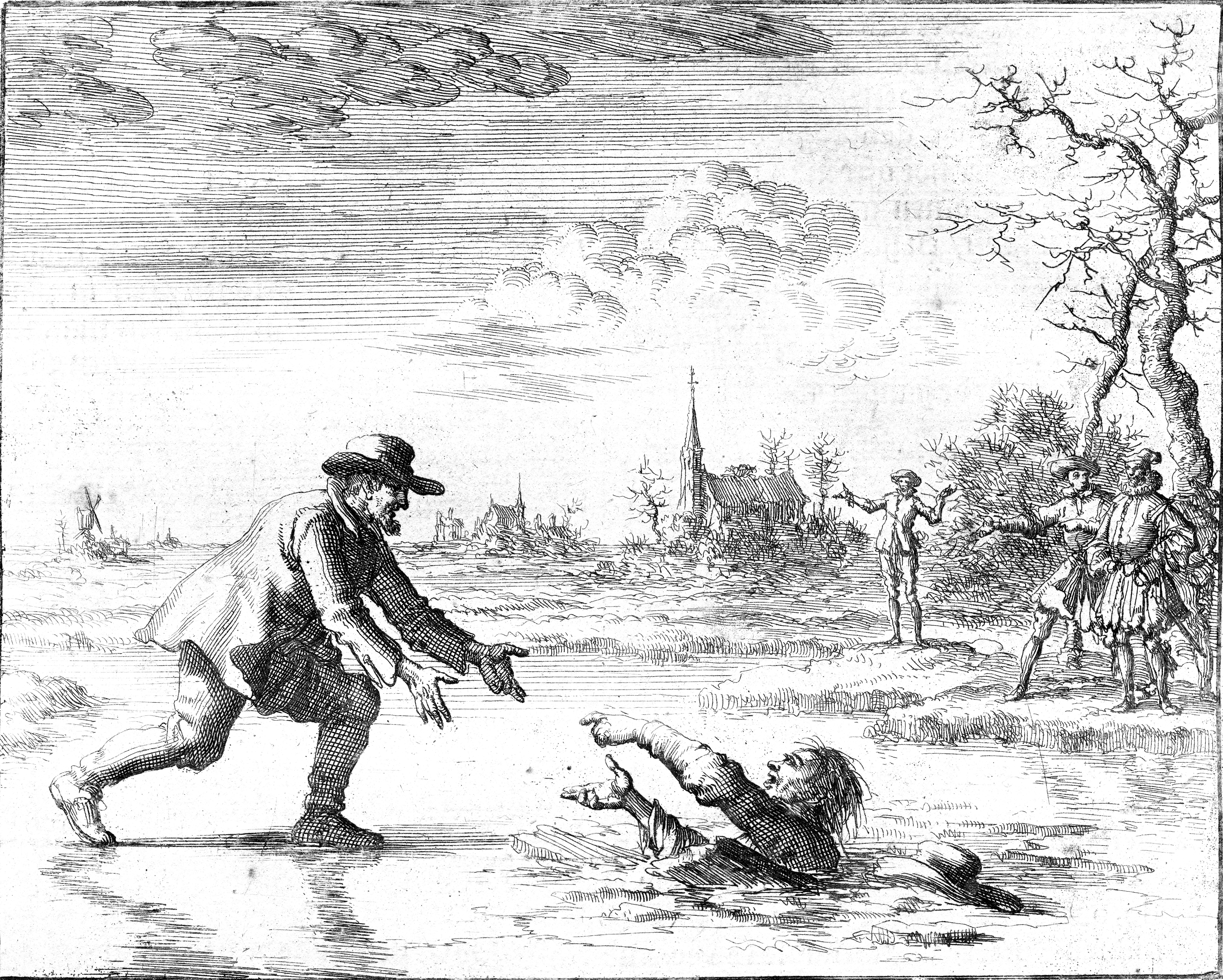 Anabaptist Dirk Willems rescues his pursuer an...
