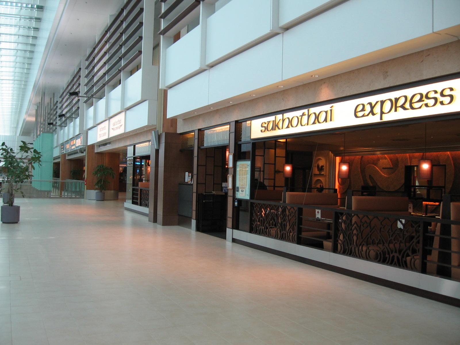 Changi Airport Terminal 1 Restaurant