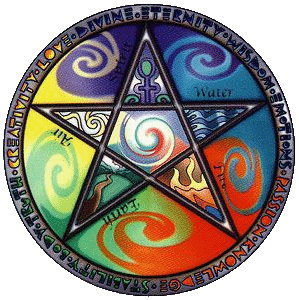 Wiccan five elements 1