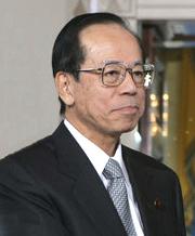 Japanischer Premierminister Yasuo Fukuda