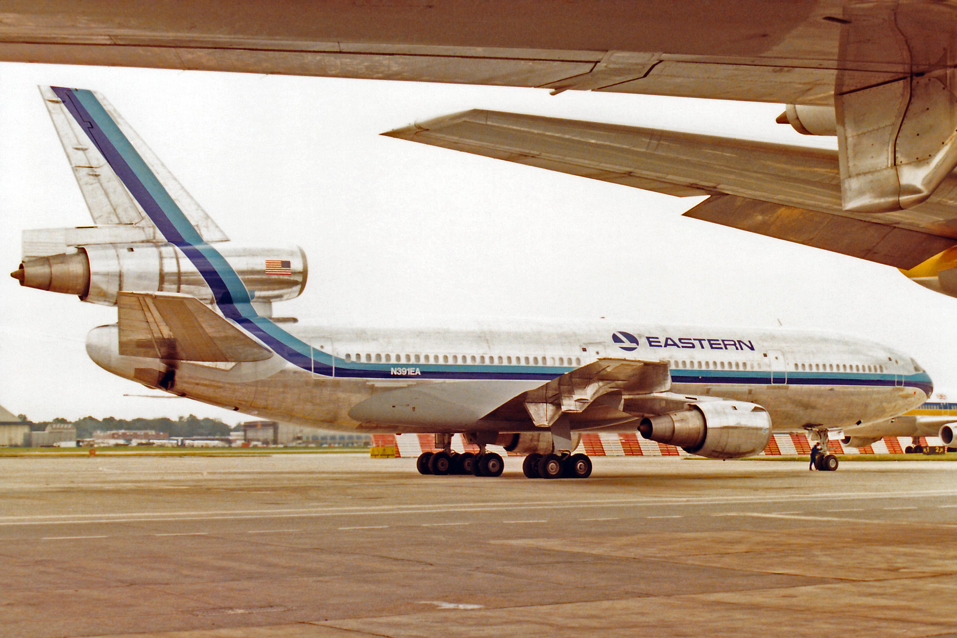 FileN391EA DC 10 30 Eastern Airlines LGW JUL85