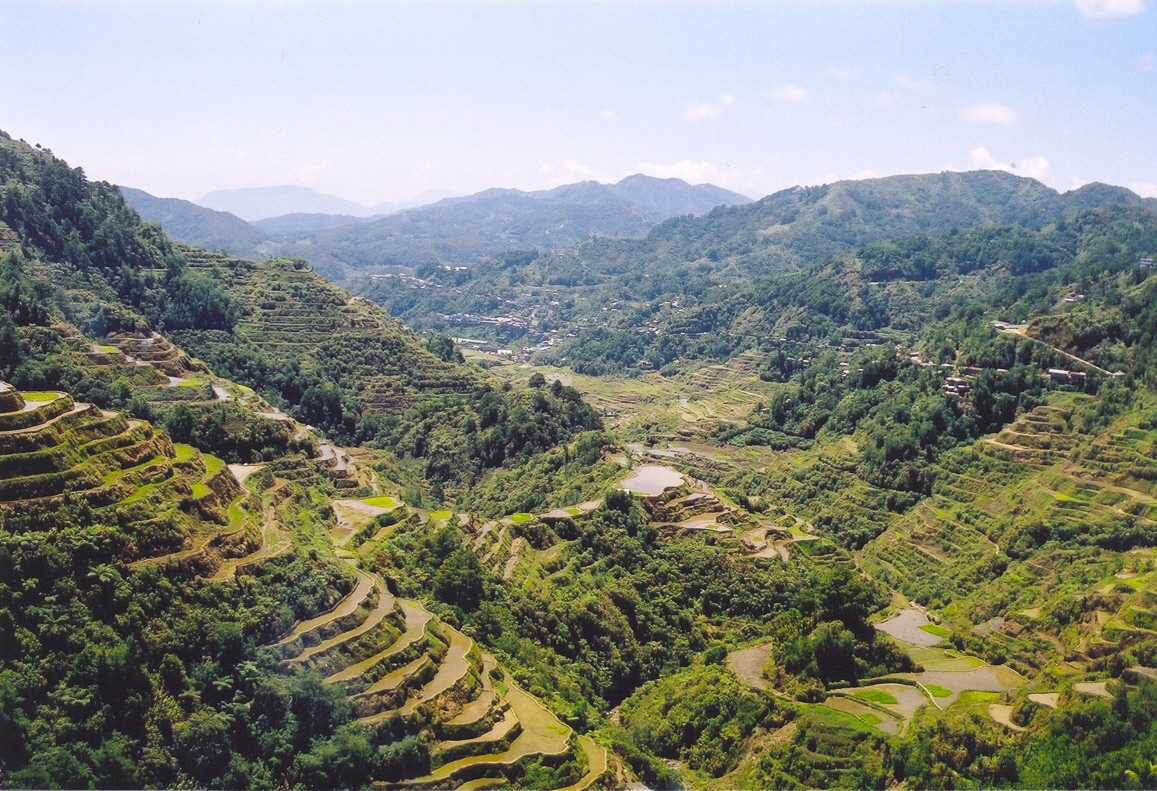 The Banaue Rice Terraces in Luzon Island, Phil...