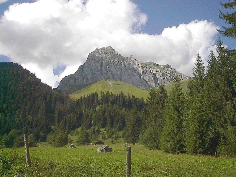Cornettes de Bise, 2432 m