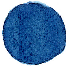 English: Extract of Indigo plant applied to paper