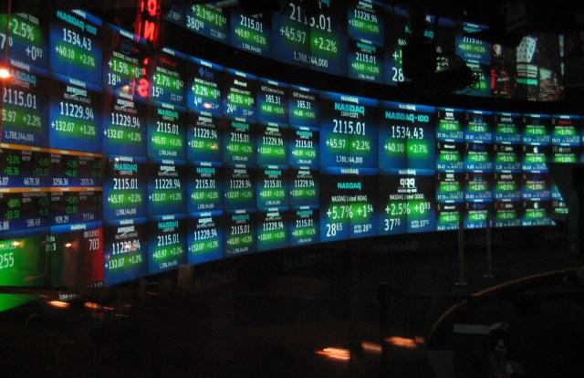 NASDAQ MarketSite TV studio