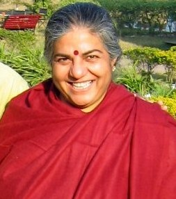 Vandana Shiva, noted environmentalist in 2007,...