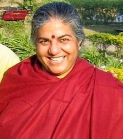 Vandana Shiva, noted environmentalist in 2007,...