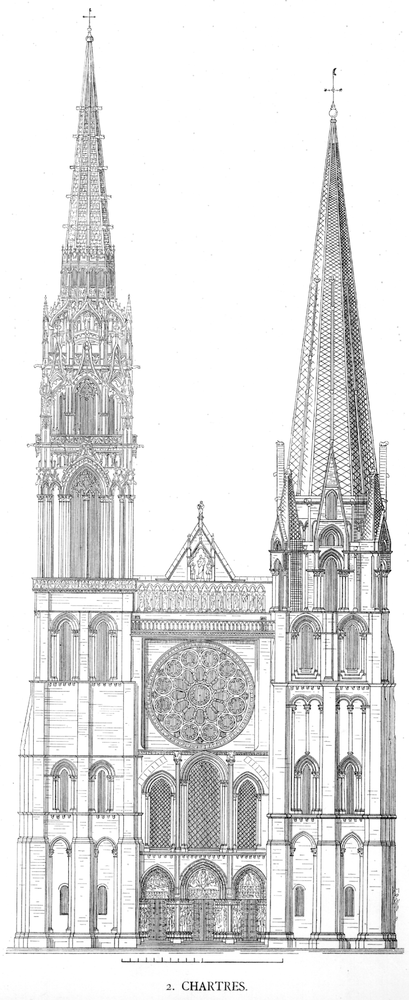 Diagram Of A Gothic Cathedral Good Old Days Of Labeling