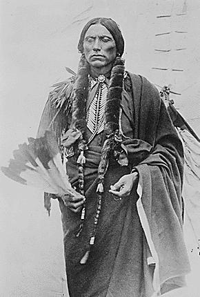 English: Chief Quanah Parker of the Kwahadi Co...
