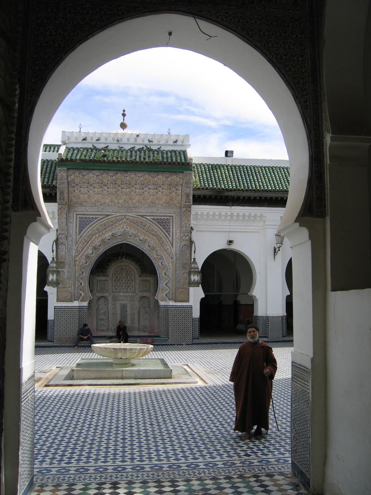Universidad de Qarawiyyin (Fuente: http://upload.wikimedia.org)