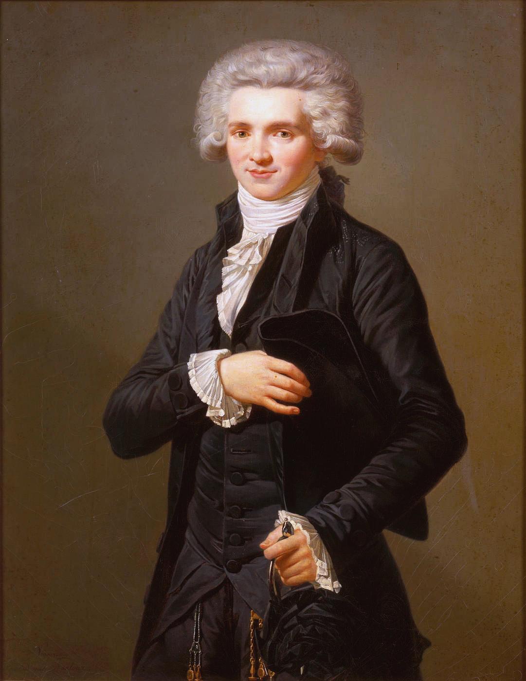 Robespierre, portrait by Labille-Guiard