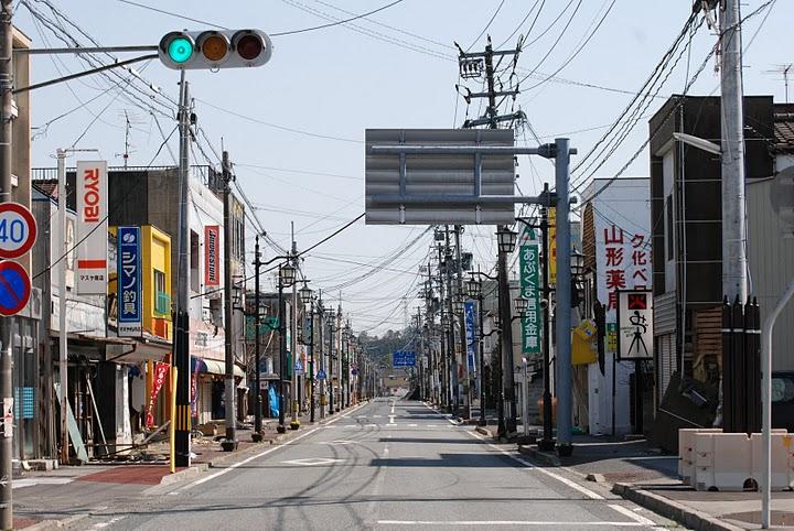 Bandar Hantu Namie yang digelar Chernobyl di Jepun