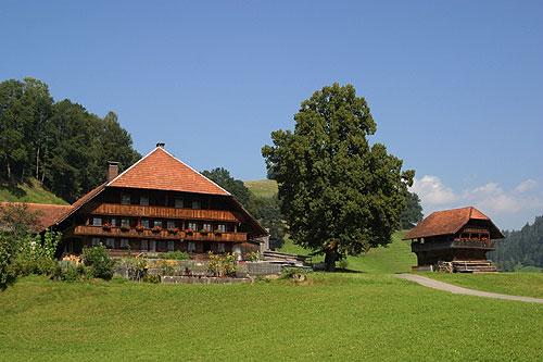 Typisches Emmentaler Bauernhaus