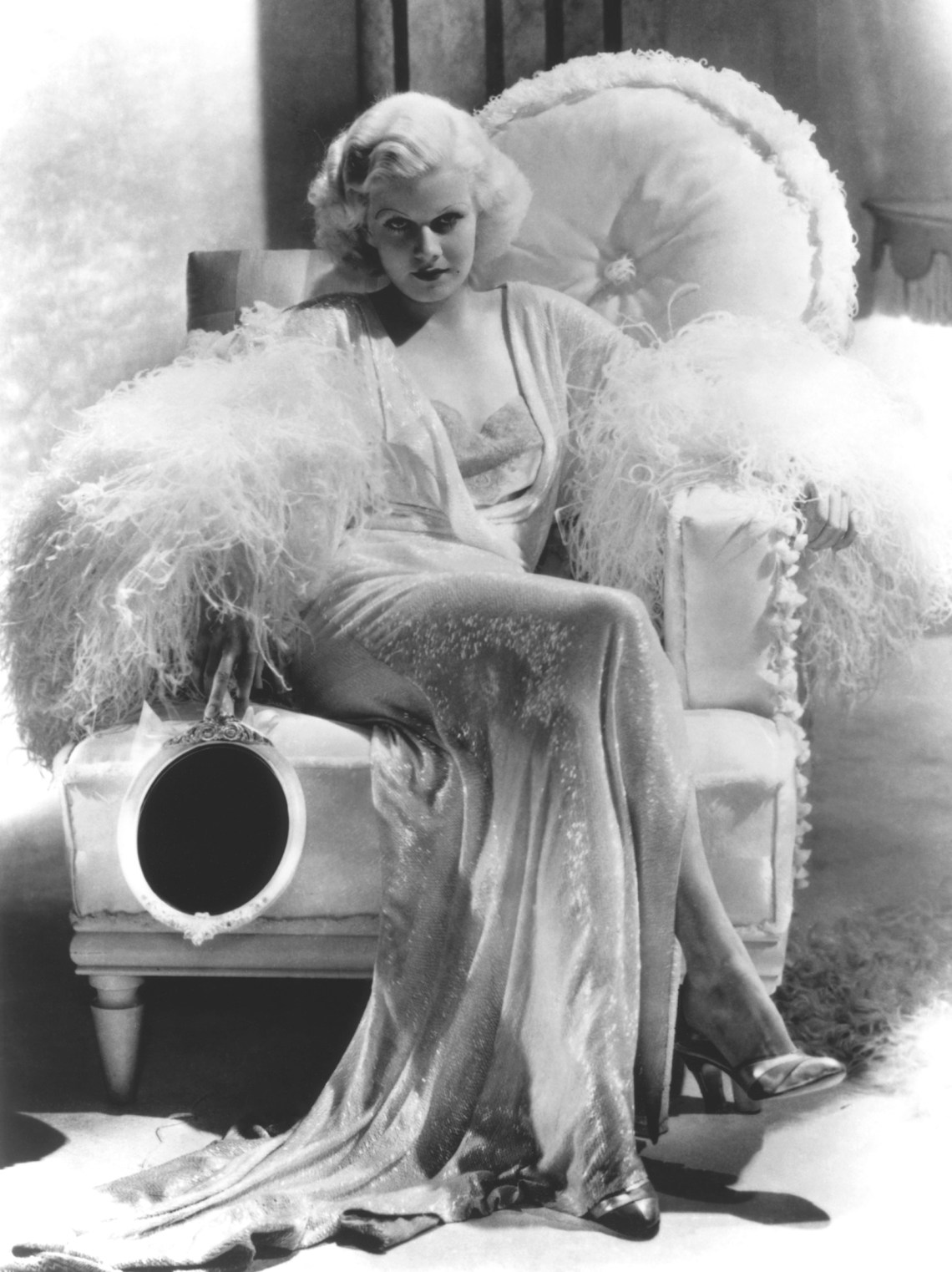Jean Harlow 1935 Boy With Blonde Hair And Blue Eyes