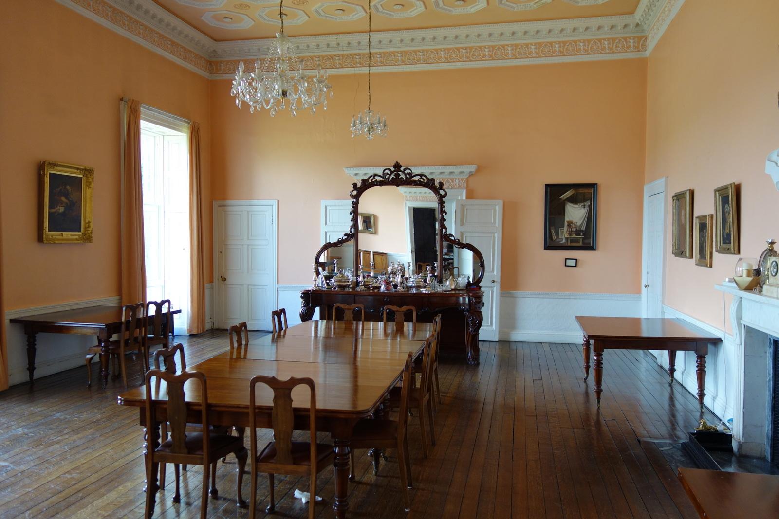FileStaff Dining Room Clongowes Wood College Kildare