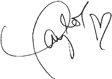 Taylor Swift Signature