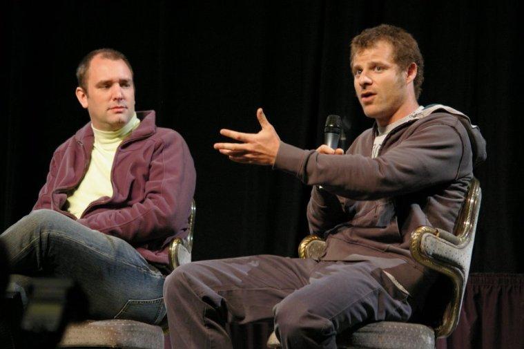 South Park creators, Trey Parker and Matt Stone