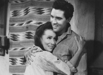Image result for dolores del rio and elvis in flaming star 1960