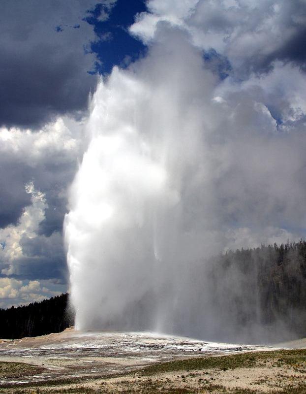 Old Faithfull at Yellowstone