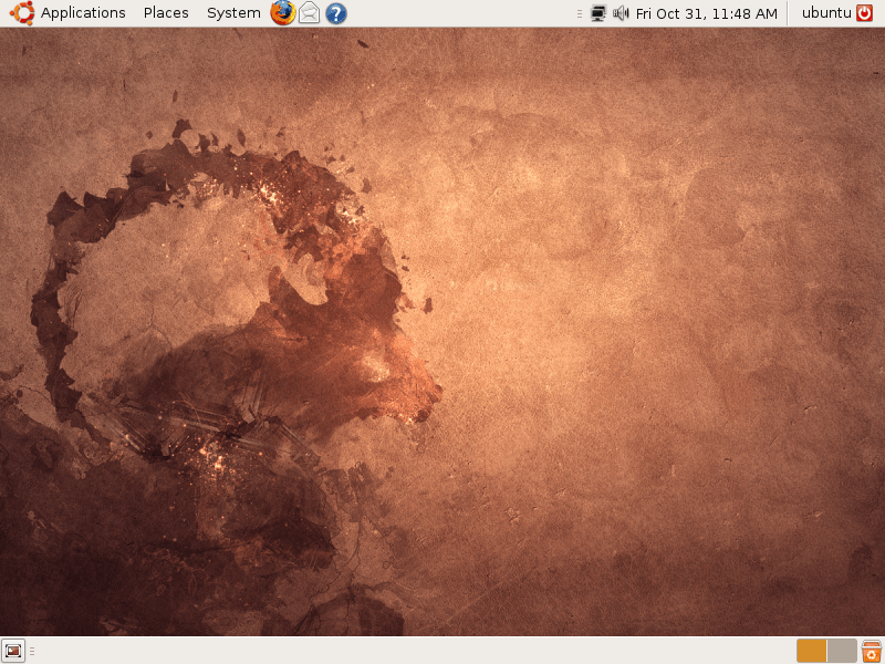 Ubuntu 8.10 (Intrepid Ibex)