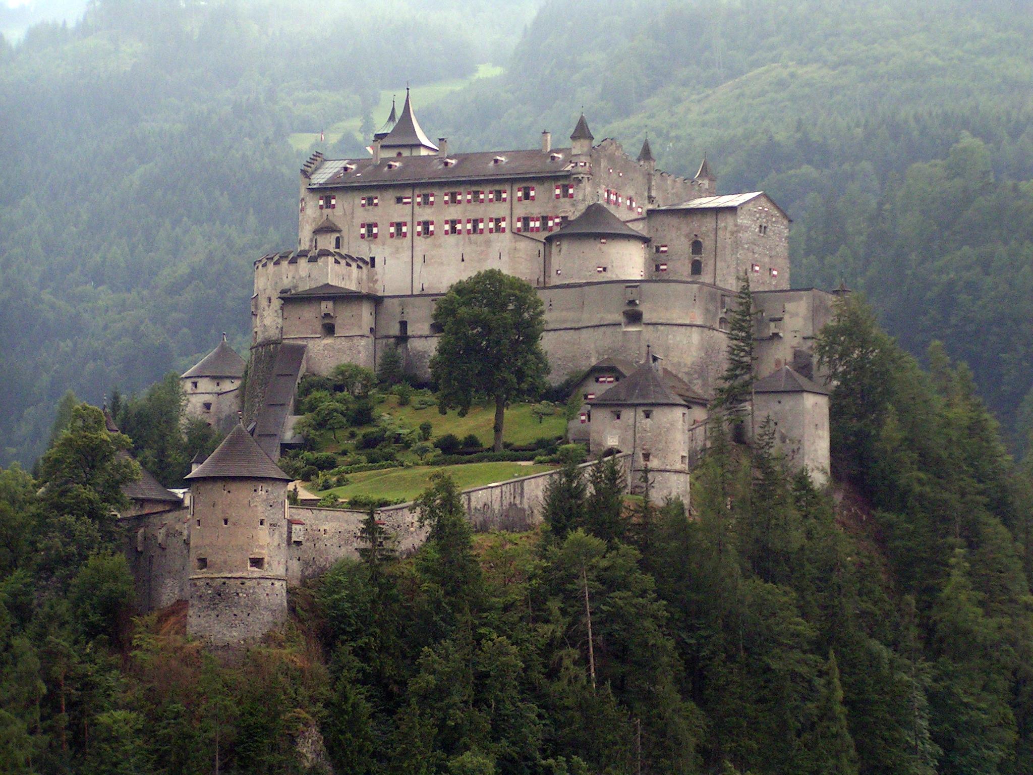 Dare Where Castle Eagles Schloss Hohenwerfen