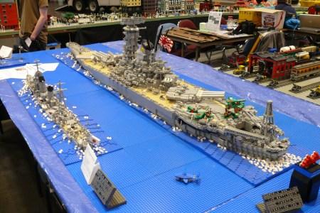 Lego Battleship Yamato Is Biggest Lego Ship Ever Designs