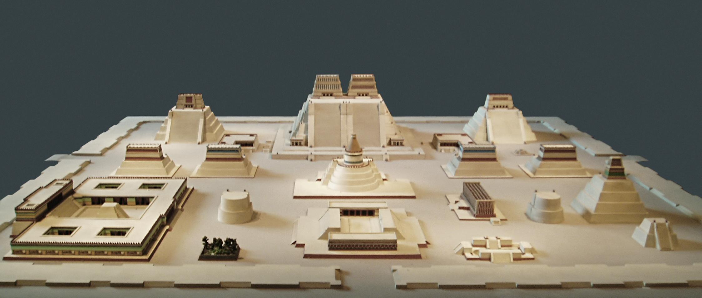 Datei Model Of Tenochtitlan Rz Wikipedia