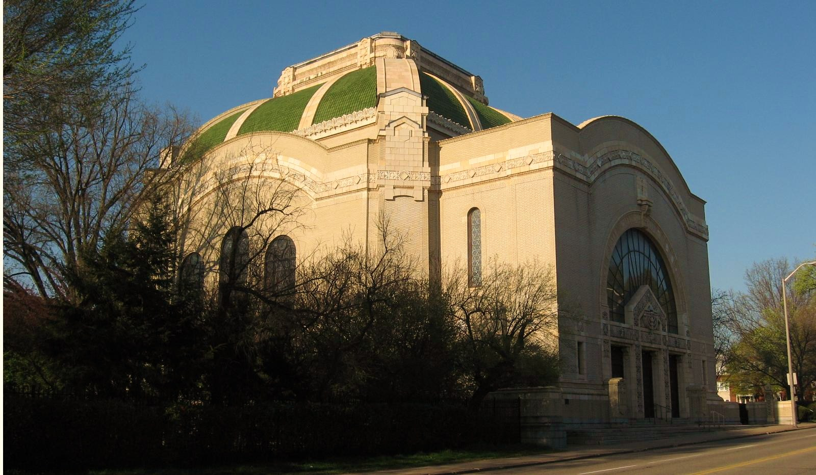 Rodef Shalom, view from Fifth Avenue