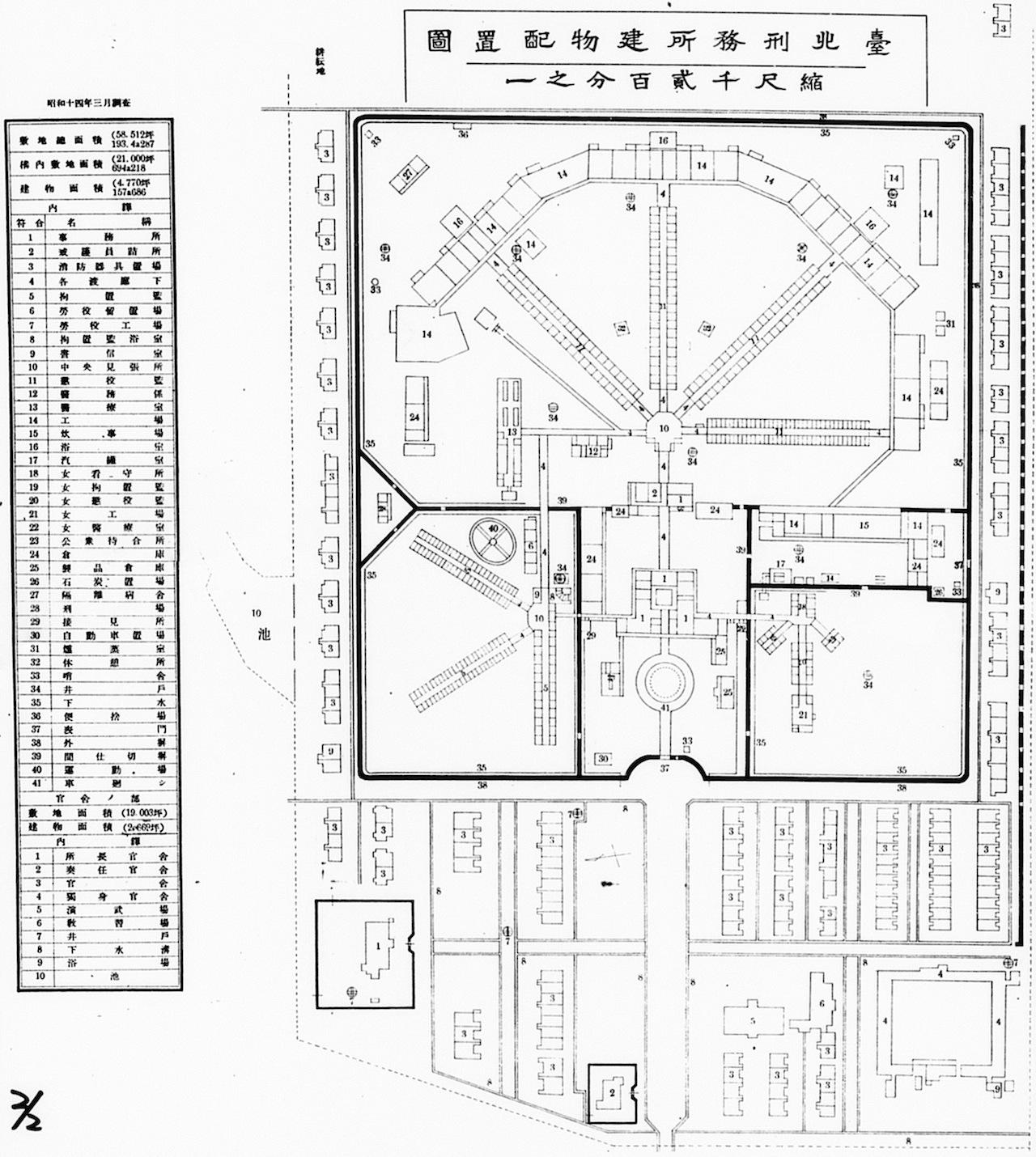 File Taihoku Prison Plan