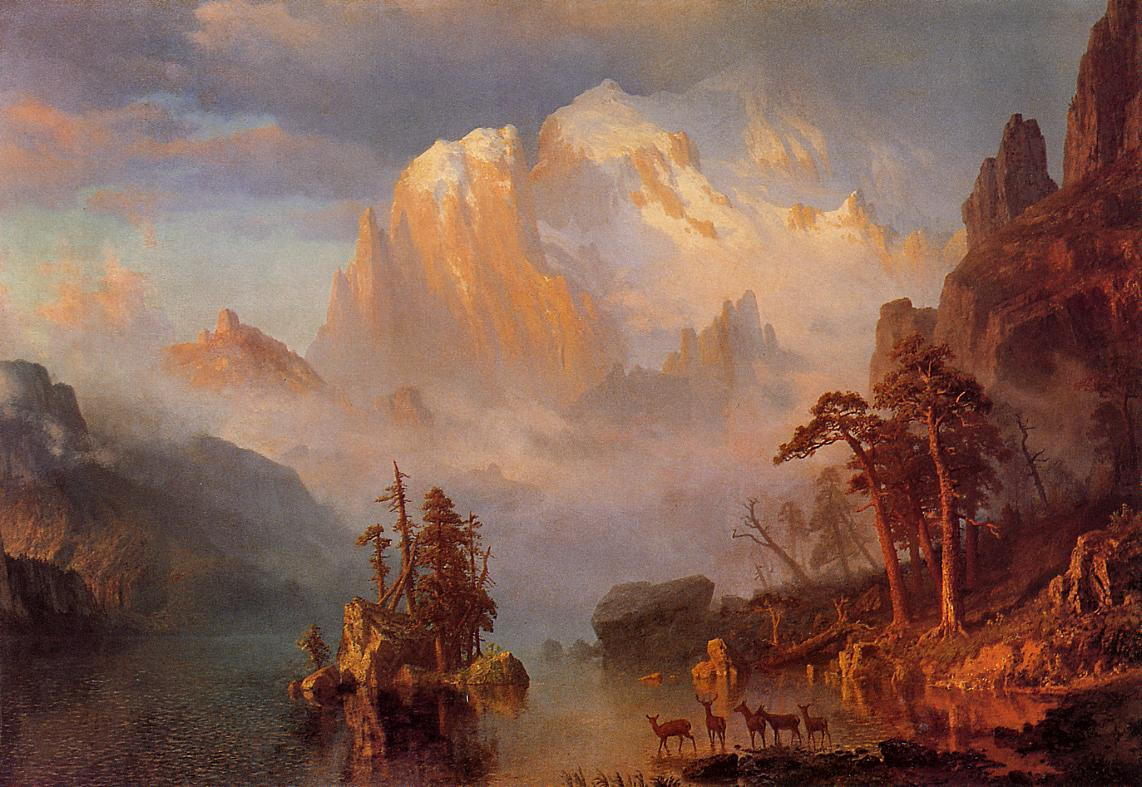 The Rocky Mountains Painting