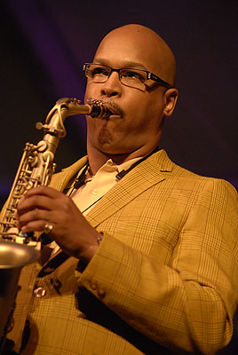 English: Saxophonist Greg Osby