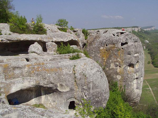 Eski Keremen, Höhlenstadt der Krimgoten