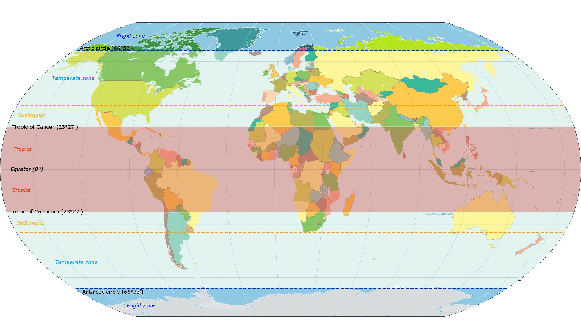 Archivo Latitude Zones