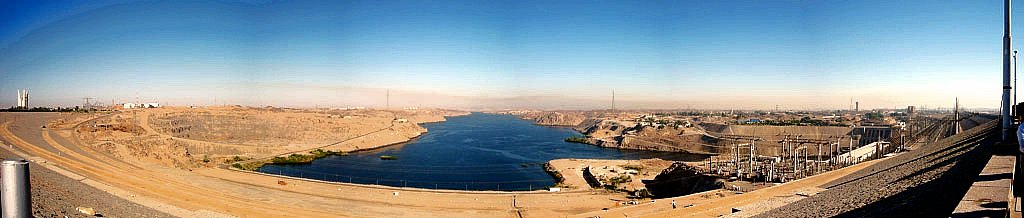 Aswan Dam (Panoramic View)