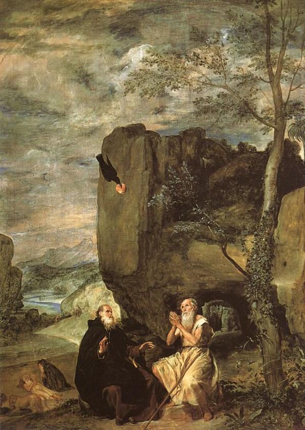 Diego Velázquez, Sant'Antonio abate e san Paolo eremita