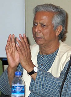 Muhammad Yunus, founder of Grameen Bank